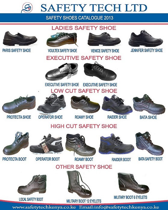 Safety Shoe Catalogue